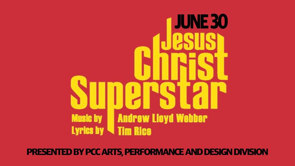 PCC Arts presents Jesus Christ Superstar at Canby Pioneer Chapel